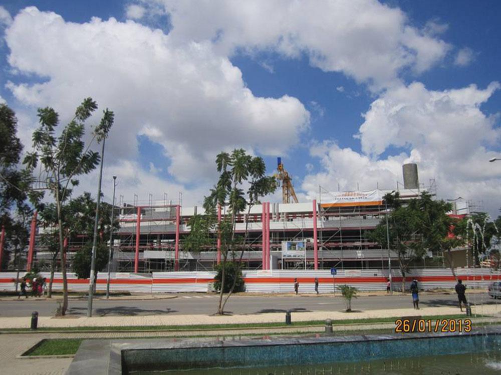 Construção do Centro Cultural do Huambo – 1ª e 2ª Fase