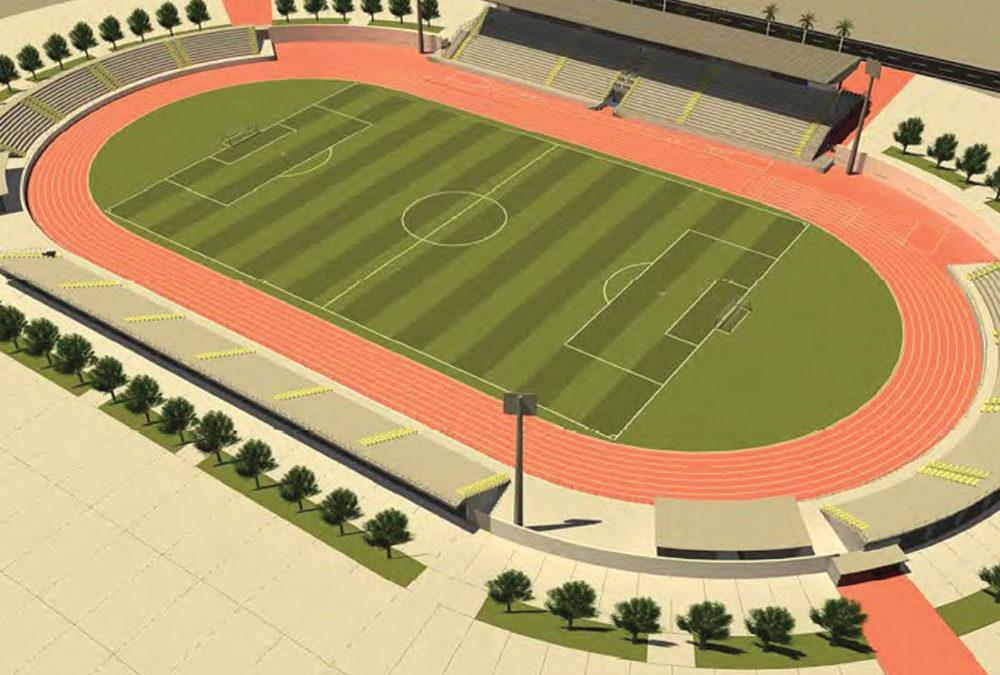 Construção de Estádio de Futebol
