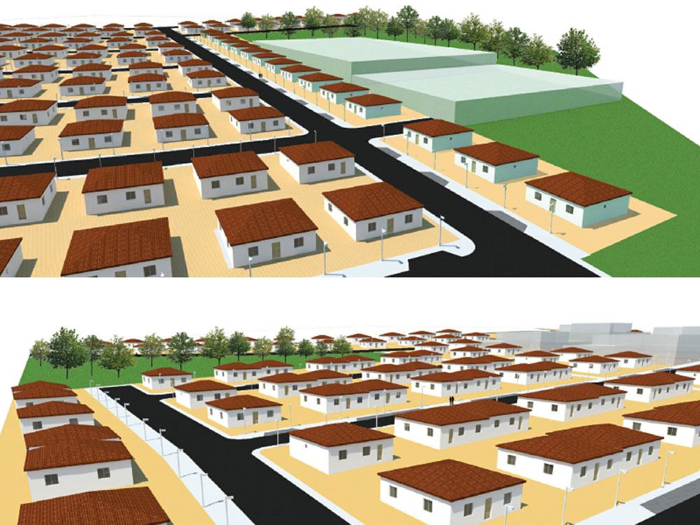 Reserva Fundiária – Construção de 200 Habitações Sociais