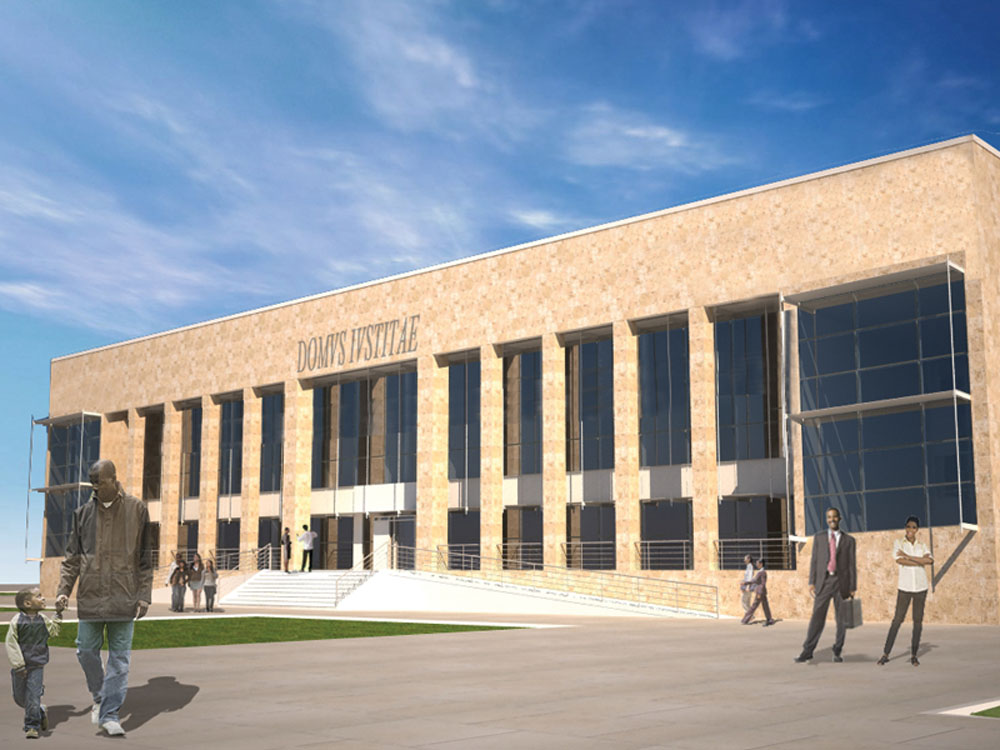 Palácio da Justiça Provincial Tipo