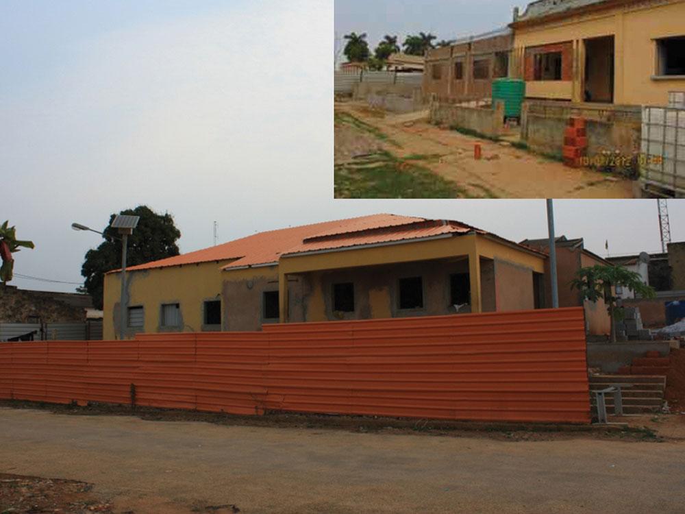 Reabilitação dos Edifícios para os Serviços de Justiça do Quitexe e do Songo