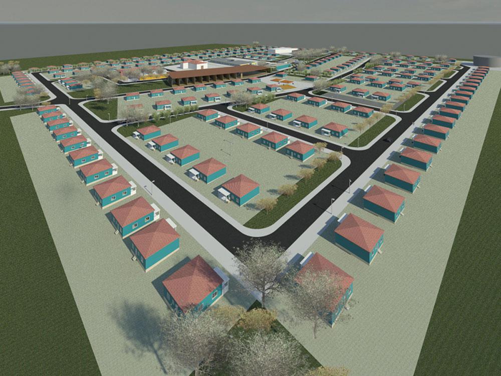 Construção de 200 Lotes para o Munícipio de Cuimba (25ha)